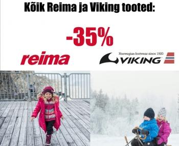 KÕIK REIMA JA VIKING TOOTED E-POES -35%