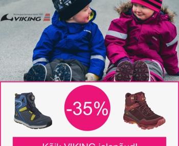 Heihopsti.ee poes kõik Viking jalanõud -35%