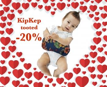 KipKep beebitooted Sõbra-nädalavahetusel -20%!
