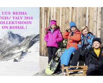 REIMA sügis/ talv 2016 kollektsioon on kohal !
