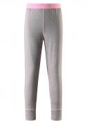 Reima tüdrukute sooja pesu püksid FILZ, hall/roosa